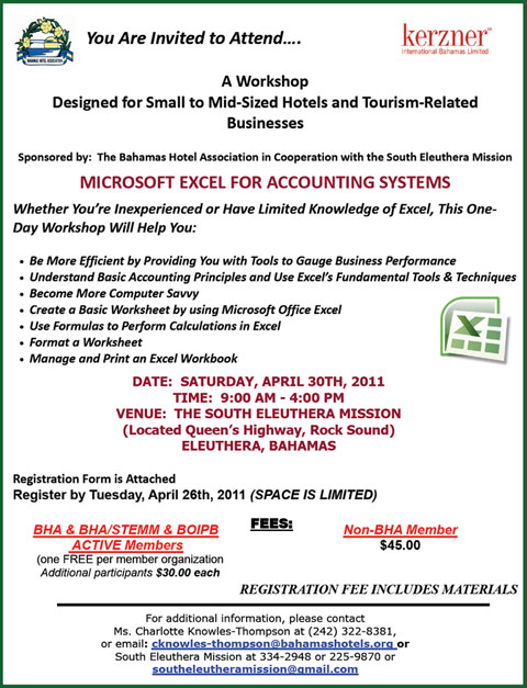 Excel Training Workshop